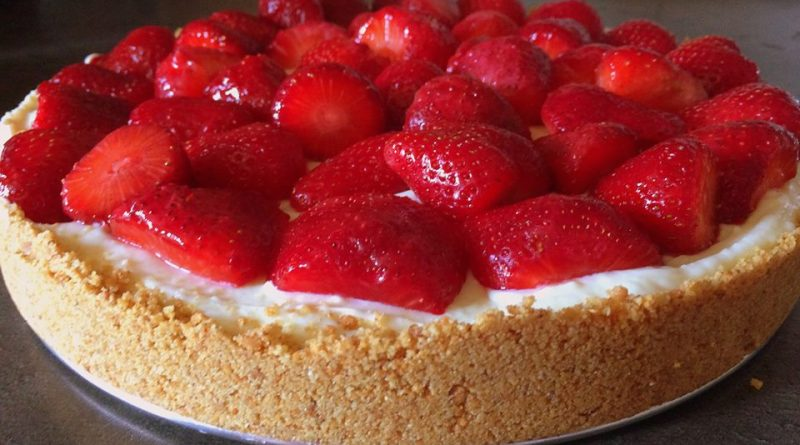 Cheesecake sa belom cokoladom