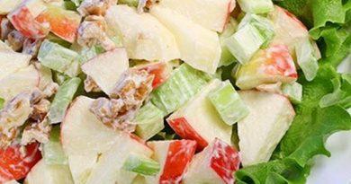 Salata sa celerom i jabukama