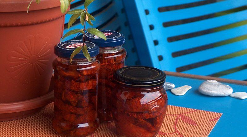 Sušeni paradajz, Sun dried tomato, susena rajčica